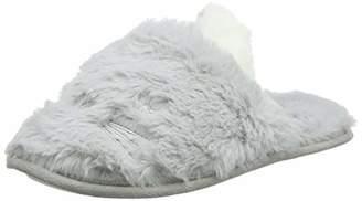 New Look Women's Noppy 2 Low-Top Slippers, Grey (Mid Grey 4), (38 EU)