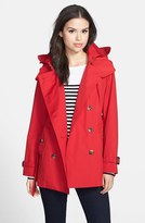 London Fog Heritage Trench Coat with Detachable Hood