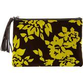 Mary Katrantzou Velvet clutch bag