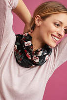 Anthropologie Cherry Blossom Infinity Scarf