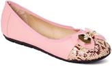 Pink Leopard Ballet Flat