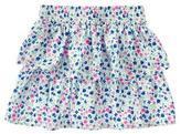 Crazy 8 Floral Ruffle Skirt