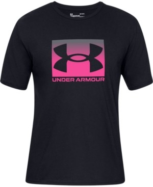 Under Armour Men's Boxed-Logo T-Shirt