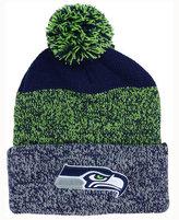 '47 Seattle Seahawks Static Cuff Pom Knit Hat