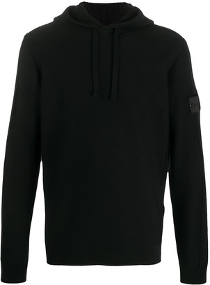 Stone Island Shadow Project Ribbed Panel Wool Jumper