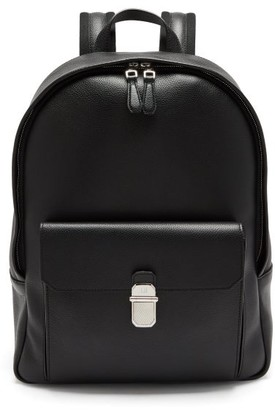 Dunhill Belgrave Grained-leather Backpack - Black