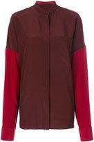 Haider Ackermann colour-block shirt - women - Silk/Cotton - 38