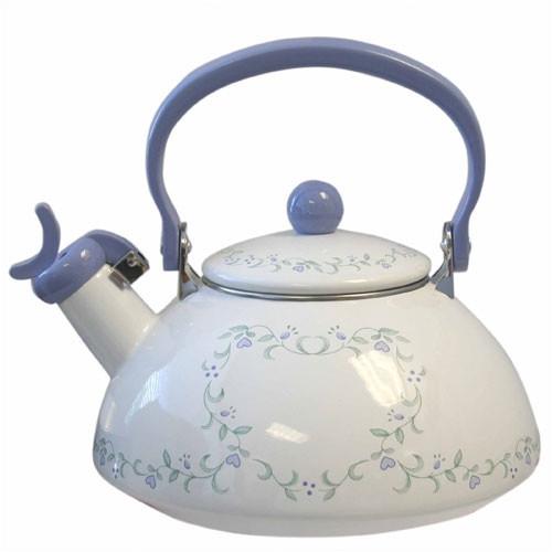 Corelle Livingware Country Cottage 2.5 Qt. Whistling Tea Kettle