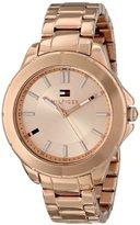 Tommy Hilfiger Women's 1781414 Analog Display Quartz Rose Gold Watch