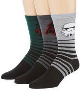 Star Wars 3-pk. Crew Socks