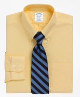 Brooks Brothers BrooksCool Regent Fitted Dress Shirt, Non-Iron Button-Down Collar