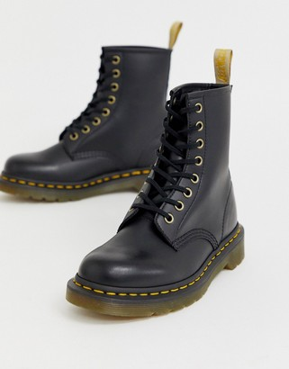 Dr. Martens Vegan 1460 classic ankle boots in black