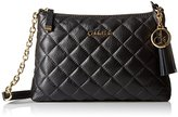 Calvin Klein Leather Quilted Cross Body Bag