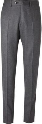Caruso Birdseye Wool Suit Trousers
