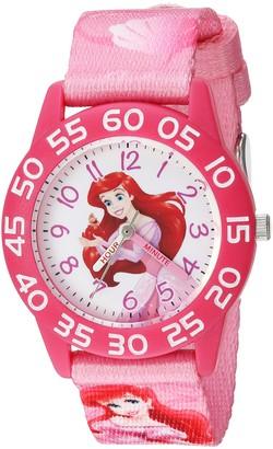 Disney Girls' Ariel Analog-Quartz Watch with Nylon Strap
