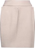 M Missoni Pleated stretch open-knit mini skirt