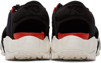Y-3 Black Notoma Sandals