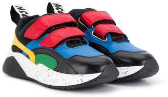 Stella McCartney colour block chunky sneakers