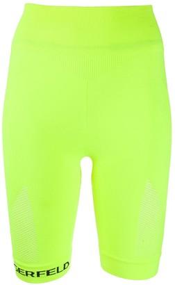 Karl Lagerfeld Paris Seamless Biker Shorts