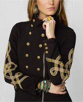 Denim & Supply Ralph Lauren Jacket, Embroidered Zip-Front