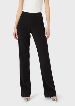 Giorgio Armani Double Crepe Trousers