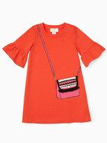 Kate Spade Girls trompe loeil bag dress