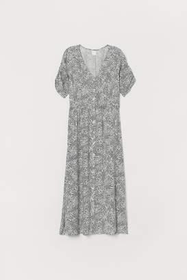 H&M Calf-length Dress - White