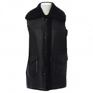 Coach Black Leather Jackets