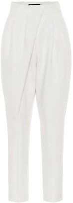 Proenza Schouler High-rise stretch-wool pants
