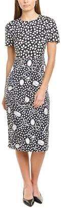 Diane von Furstenberg Langley Silk-Blend Midi Dress