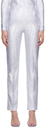 Saks Potts Silver Shimmer Lissi Trousers