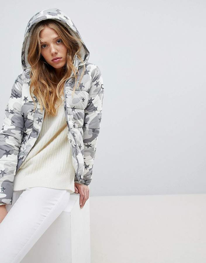 Hollister Padded Jacket With Hood