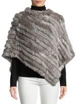 Adrienne Landau Rabbit Fur Cape