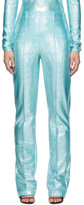Saks Potts SSENSE Exclusive Blue Lissay Trousers