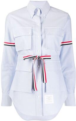Thom Browne Four-Pocket Button-Down Shirt