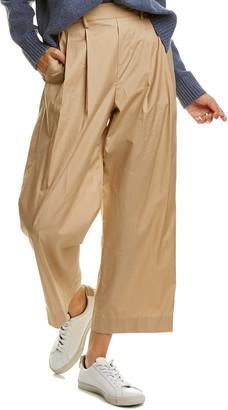 Vince High-Waist Utility Crop Pant
