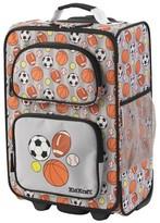 Kid Kraft Rolling Luggage - Sports (Grey)