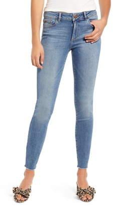 DL1961 Florence Instasculpt Fray Hem Skinny Jeans
