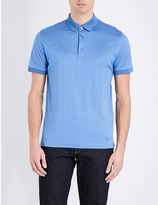Corneliani Cotton-jersey polo shirt