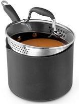 Anolon CLOSEOUT! Advanced 3.5 Qt. Covered Straining Saucepan