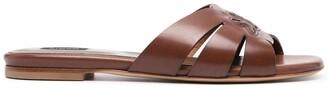 Pinko Woven Flat Sandals