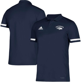 adidas Men's Navy Nevada Wolf Pack Team climacool Polo