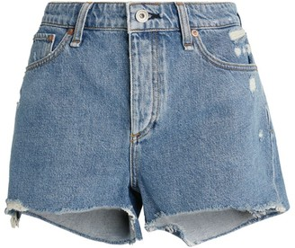 Rag & Bone Dre Distressed Shorts