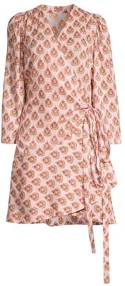 Roller Rabbit Sunshower Elin Cotton Wrap Dress