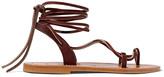 K Jacques St Tropez Lucile leather sandals