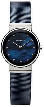 Bering Ladies' Classic Stainless Mesh Watch