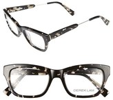 Derek Lam Women's 50Mm Optical Glasses - Black Marble