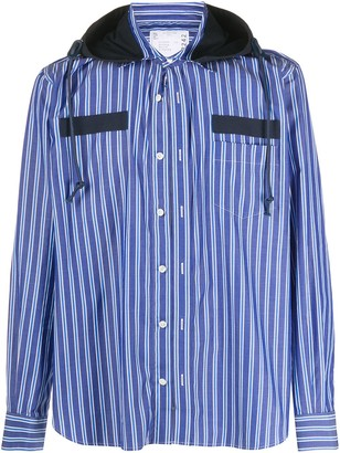Sacai Striped Shirt