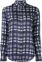 Joseph checked classic shirt - women - Silk - 38