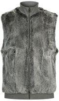 Michael Kors Reversible Rabbit Fur Gilet